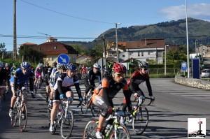 Primera parte de la Carrera, paso por Rubayo