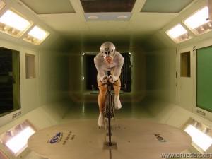 El viento en el ciclismo