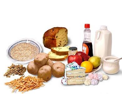 Alimentos basados en Carbohidratos