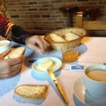 Desayunando en Pejanda