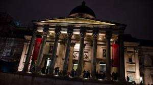 Trafalgar Square de Noche - Navidad en Londres