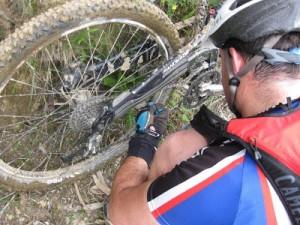preparar la bicicleta para los 10000 del soplao