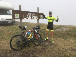 En la cima de Larrau - Larra Larrau 2016